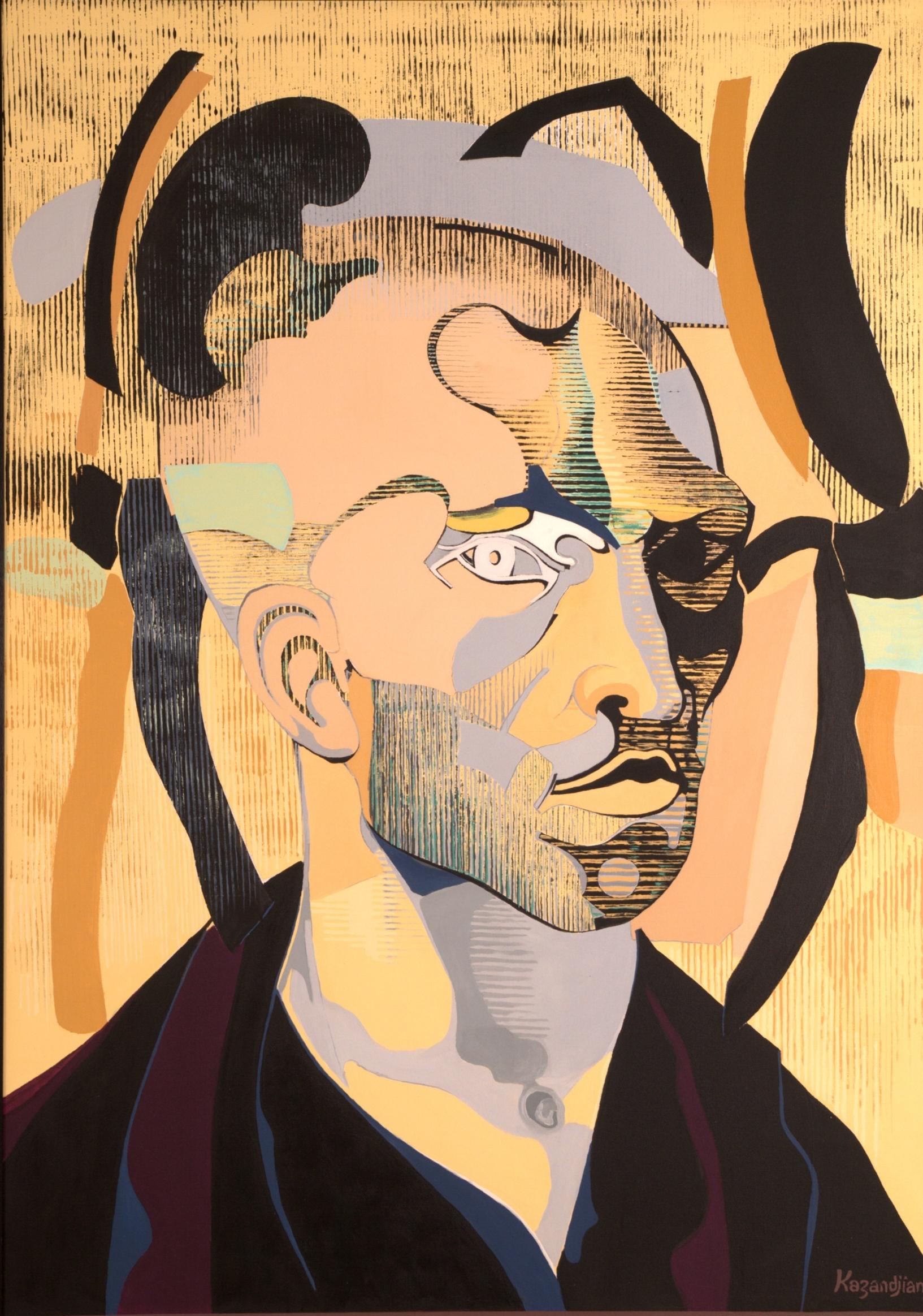 After Van Gogh Self Portrait