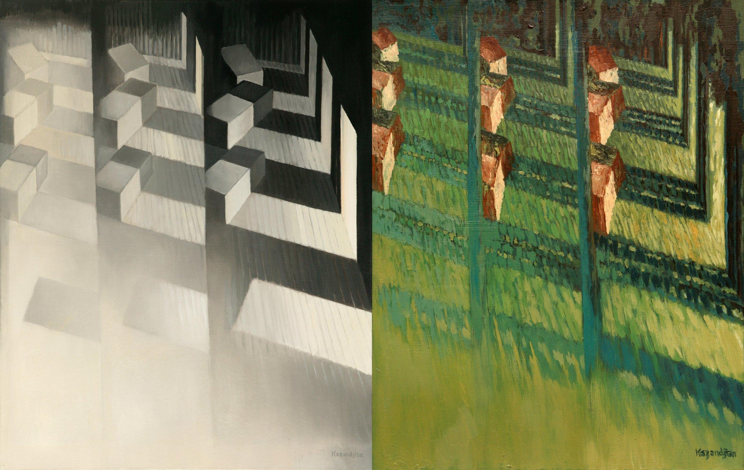 Sequences - Comparisons Dyptich