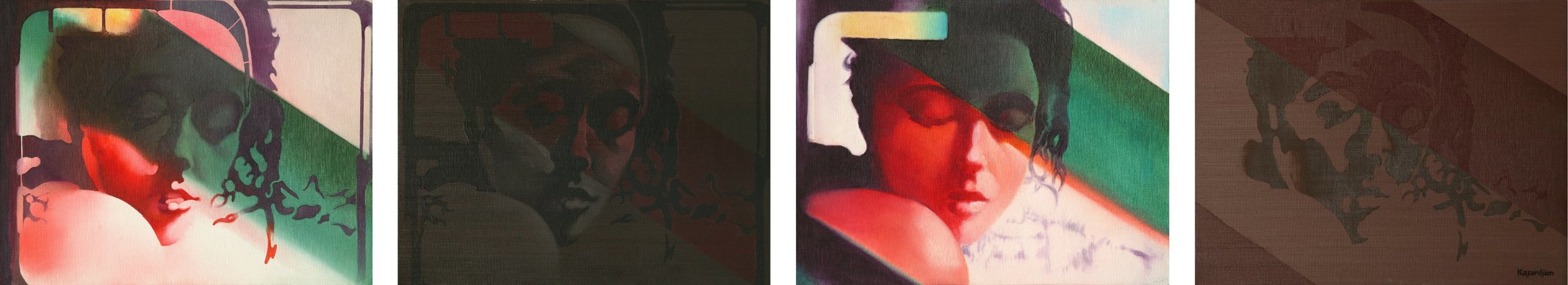 Sequences - Portrait of Woman - Four Tempos