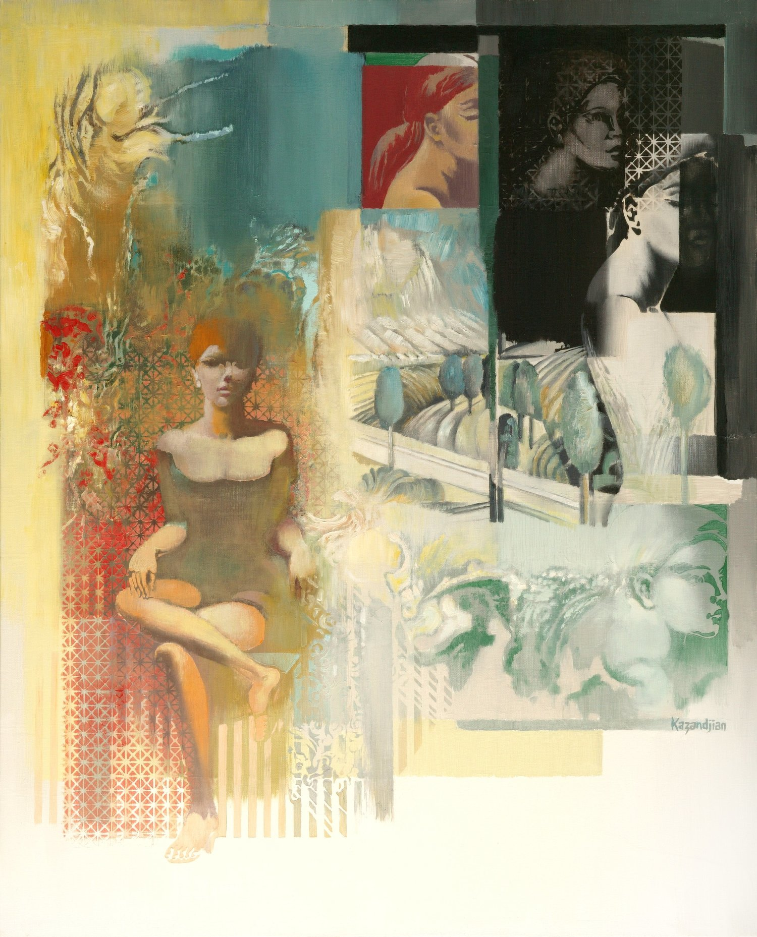 SEQUENCES- WOMAN AND LANDSCAPE