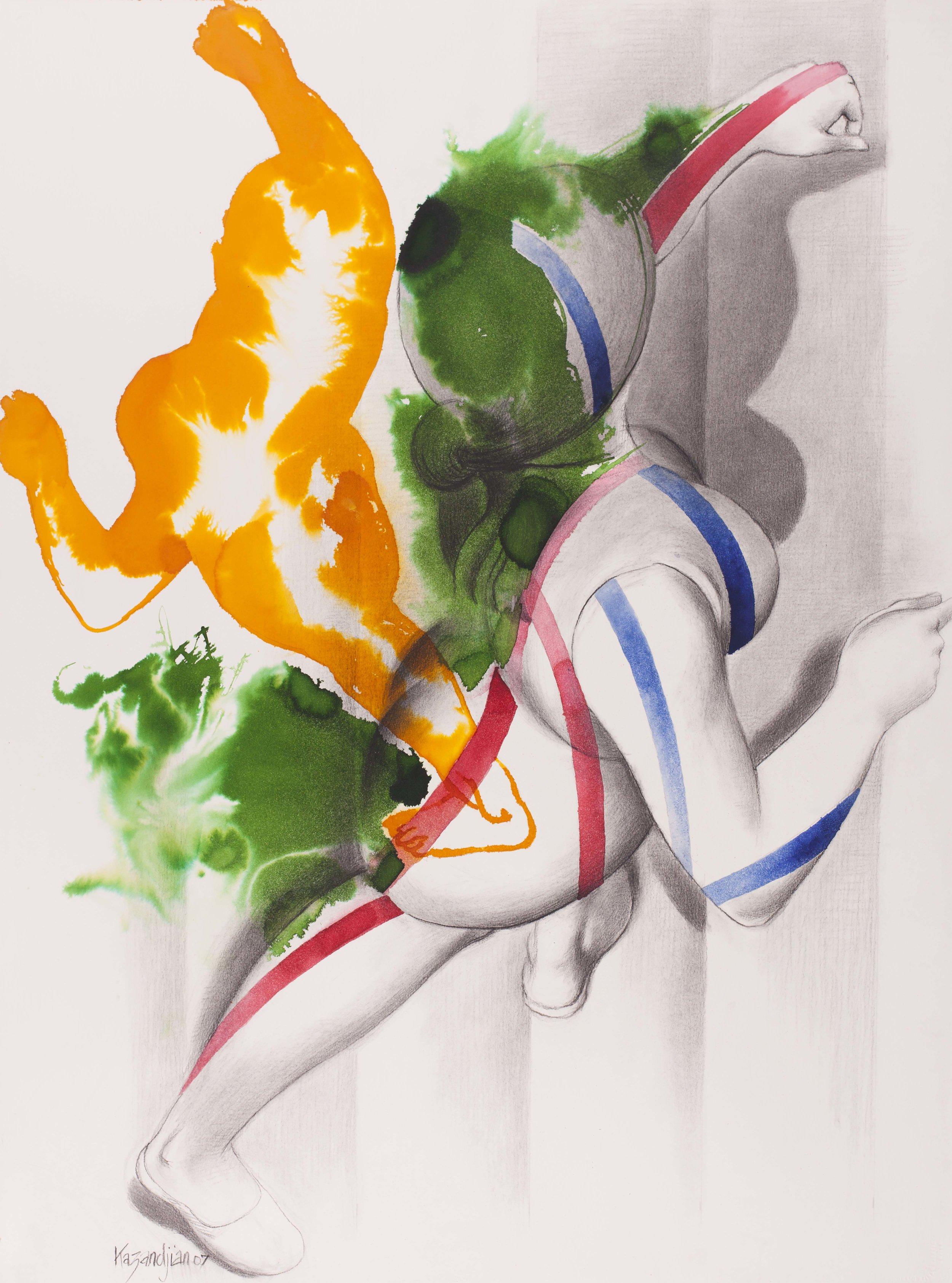 orange, green, and white running woman.jpg