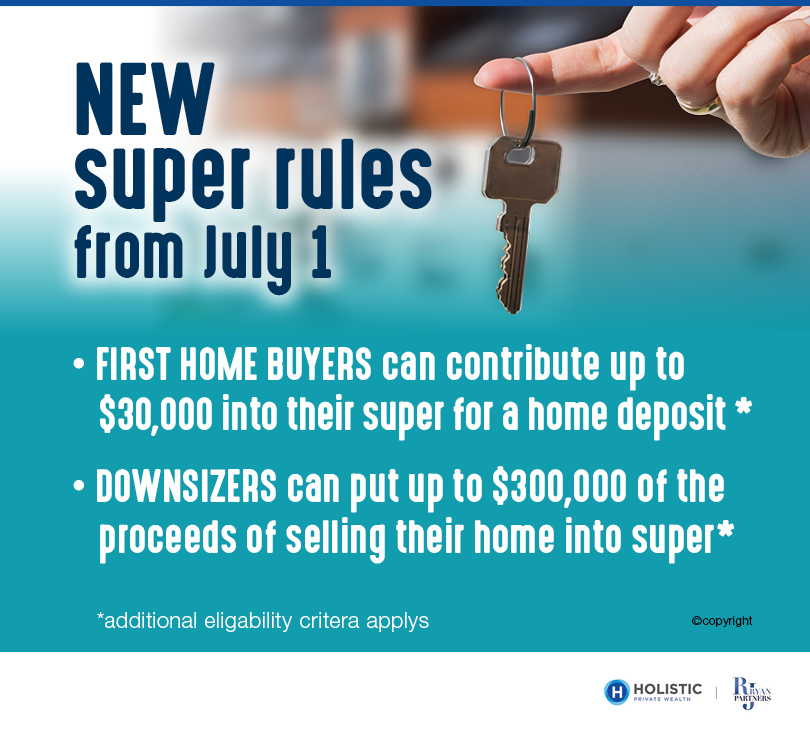 New Superannuation Rules