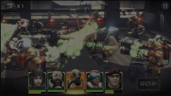 League of War: Alpha Force - Mobile combat strategy gaming is about to get up close and personal!