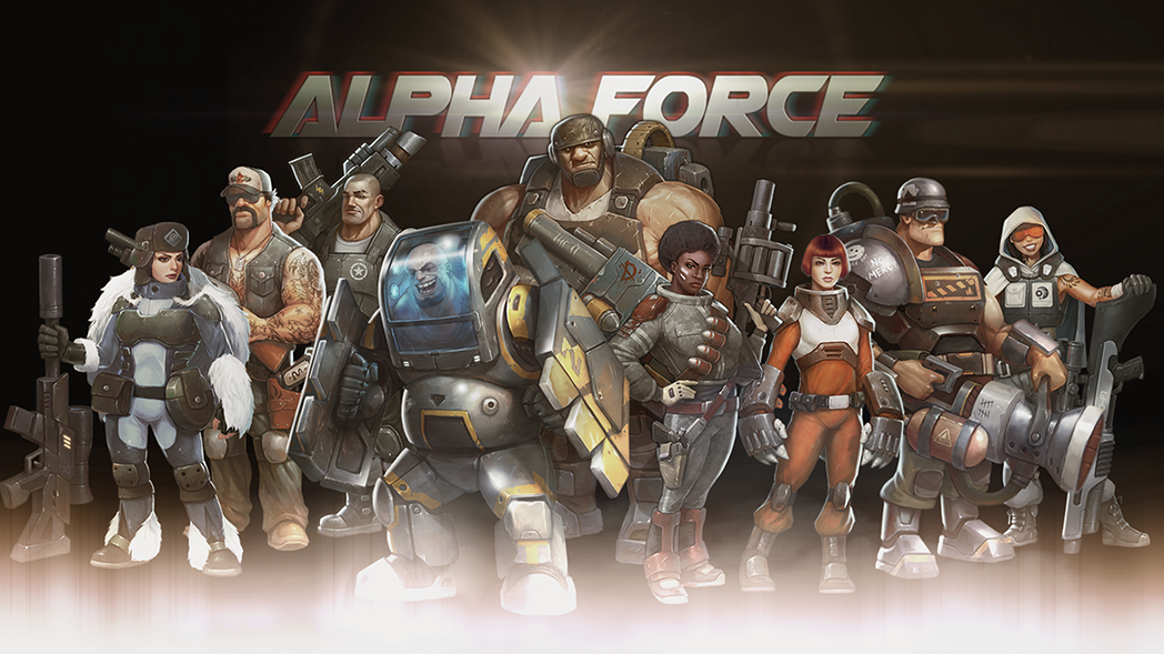 Meet the international super-soldiers and ultra-villains of Alpha Force!