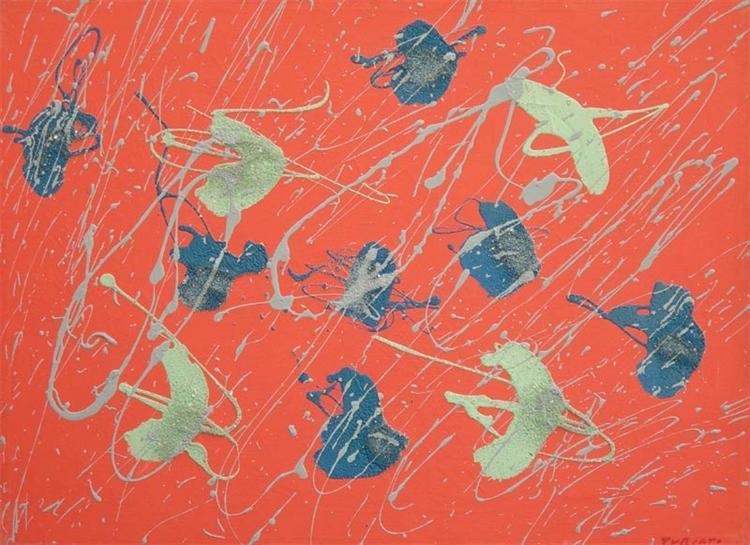 Orme, 1970, Giulio Turcato