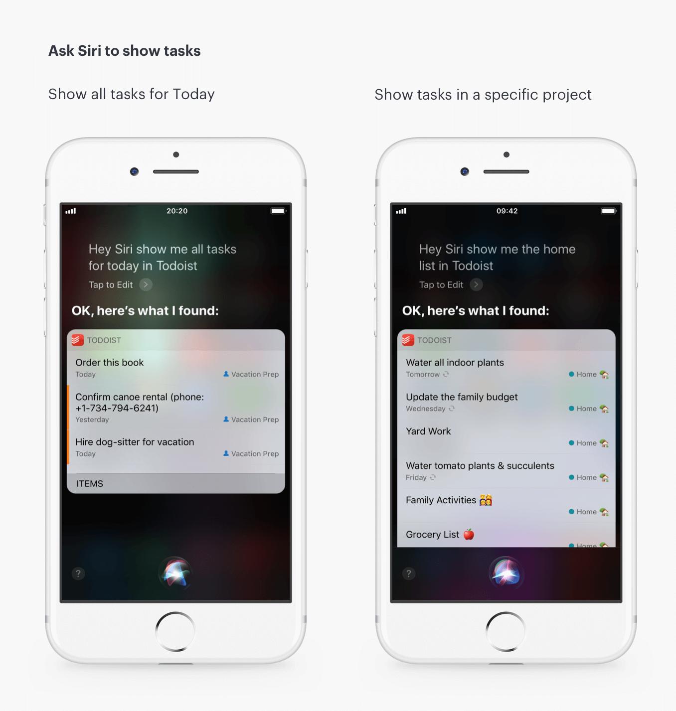 Adding Tasks to Todoist with Siri