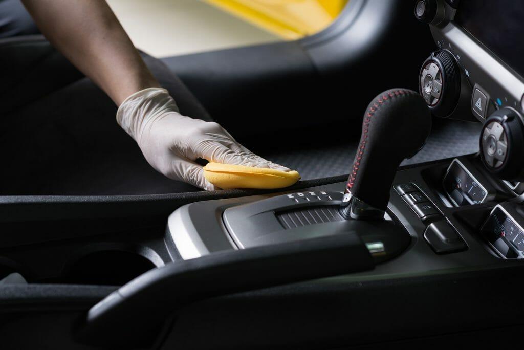 I too wear gloves when I clean my car