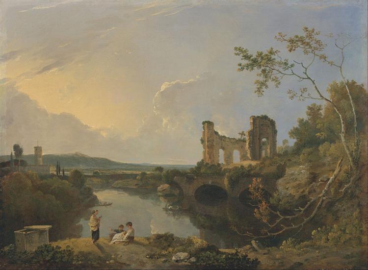 Italian Landscape , Richard Wilson, 1765