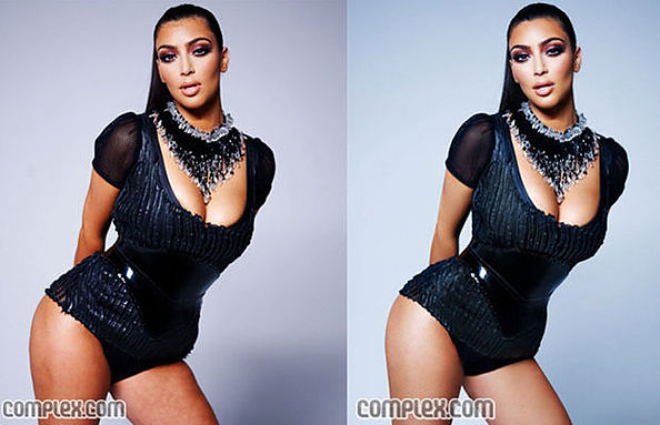 Kim Kardashian photoshops out cellulite. And even Tash Oakley has cellulite. It's normal!