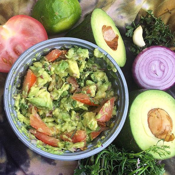 Guacamole recipe The Nude Nutritionist Instagram - @nude_nutritionist