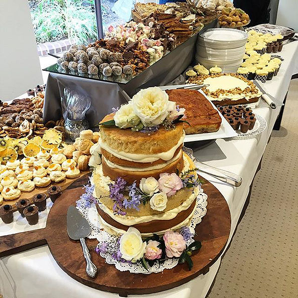 Enjoying some treats at my dear friends engagement party recently!