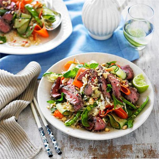 Vietnamese Beef Salad \\ Recipe below!