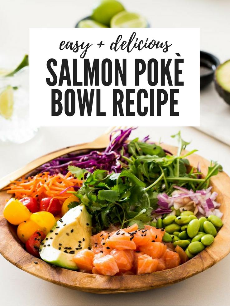 Healthy Salmon Poke Bowl Recipe