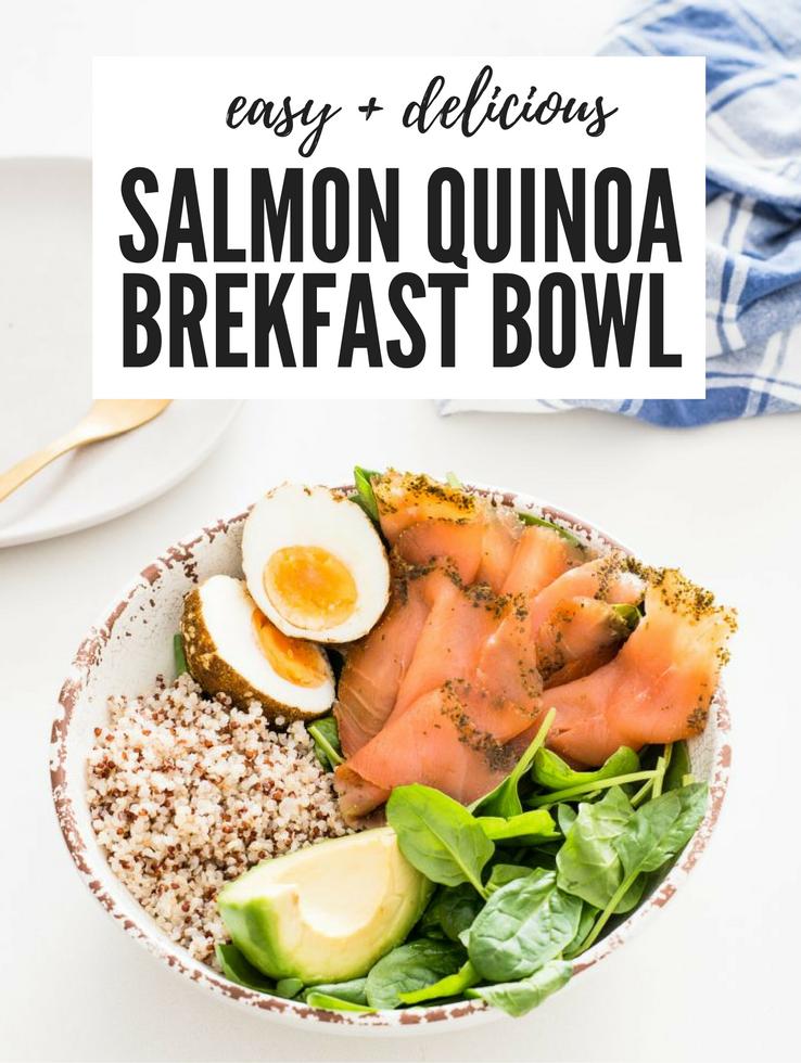 Huon Salmon Quinoa Breakfast Bowl Recipe