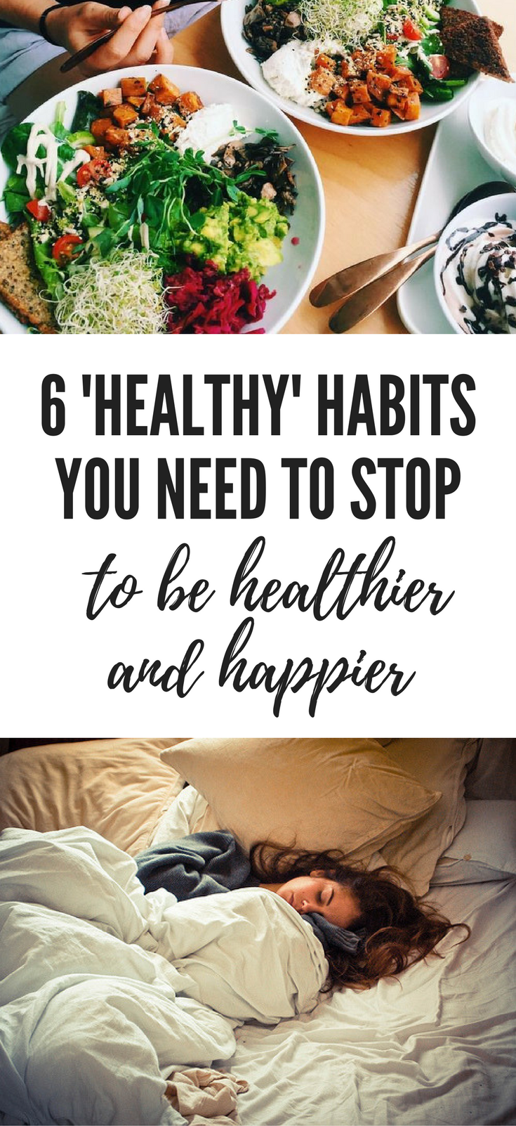 unhealthy habits to stop doing healthier