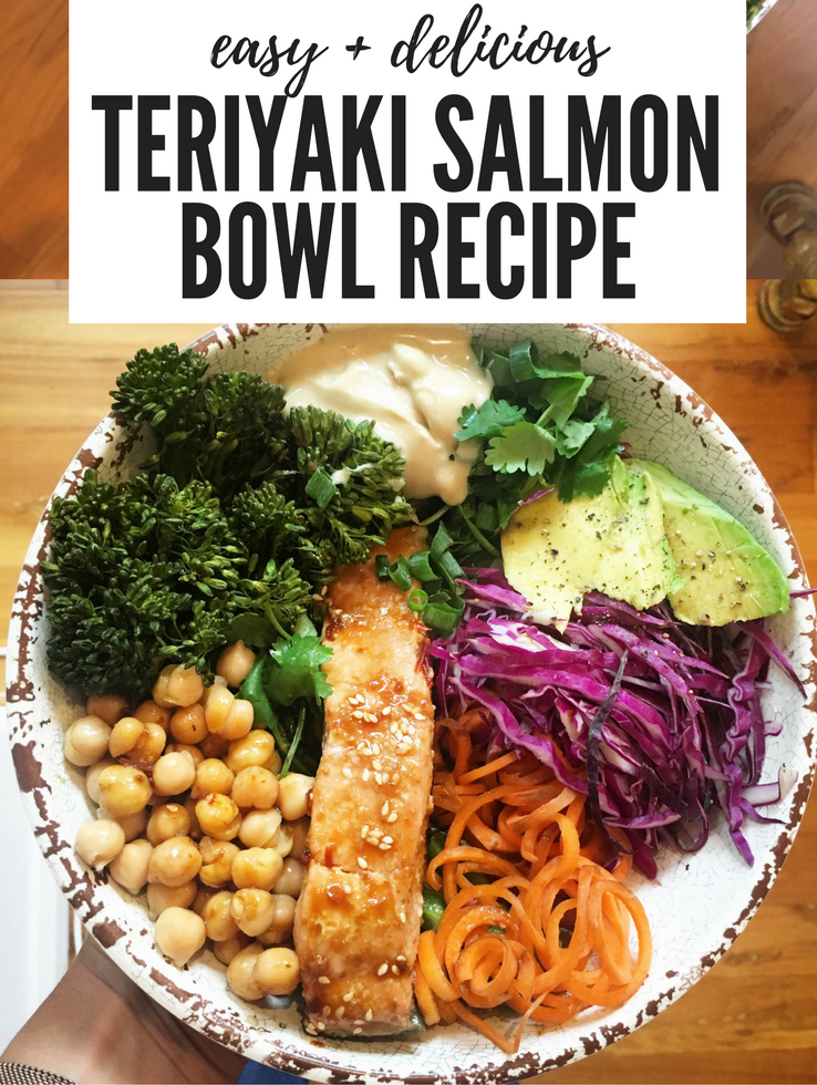Teriyaki Salmon Bowl Recipe