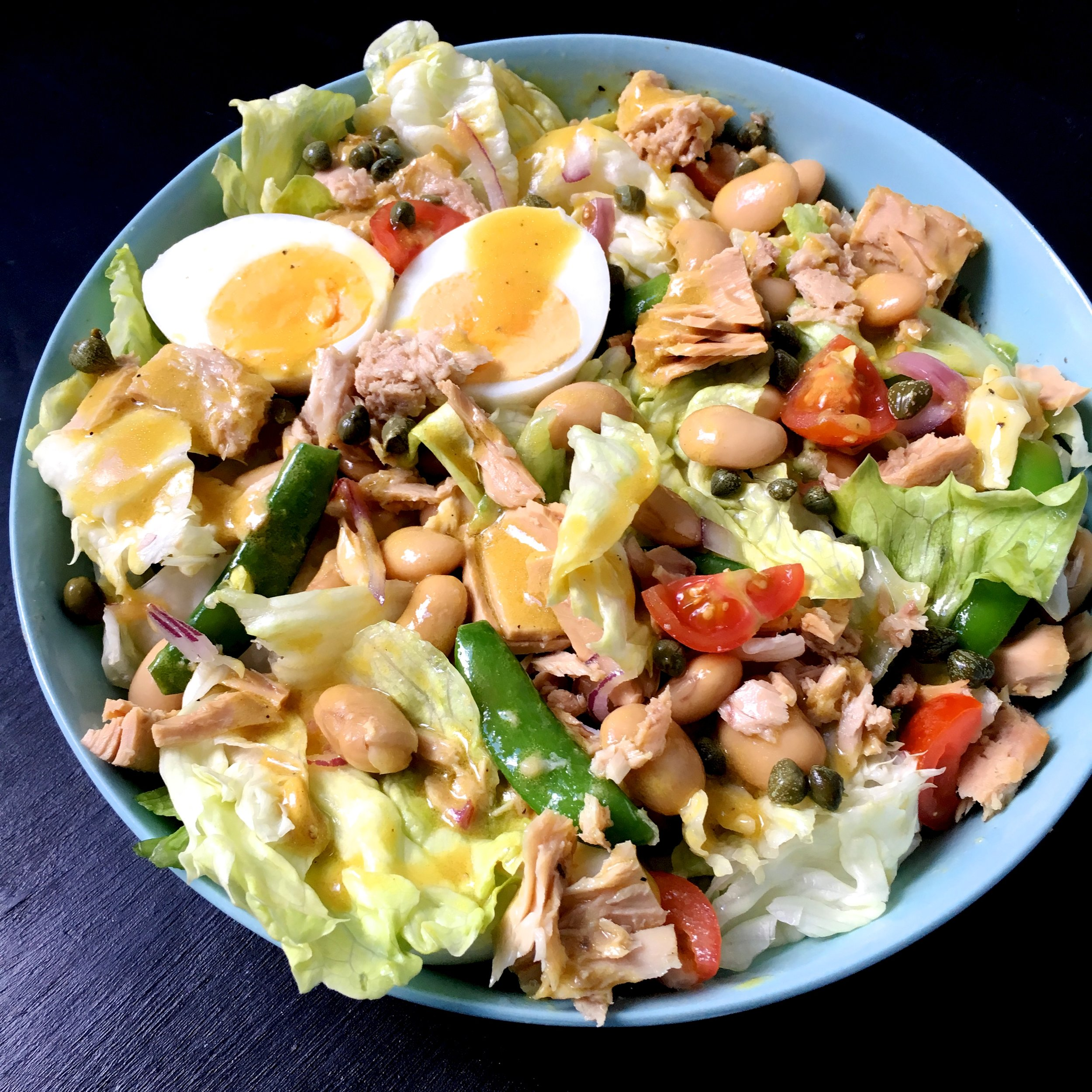 Tuna Salad Niçoise Healthy recipe