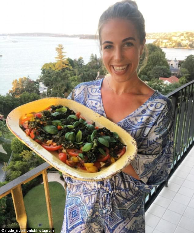 Healthy food makes me feel good - and salad platters make me laugh (according to this photo!) But seriously. Healthy eating keeps me feeling happy.