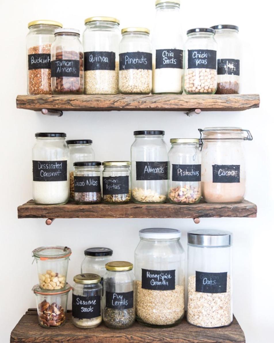 Nadia Felsch pantry goals organised wholefoods