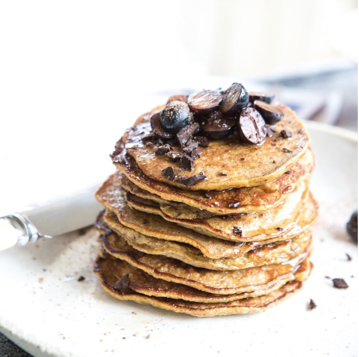 Nadia's insanely simple (and tasty) 4-ingredient pancake recipe
