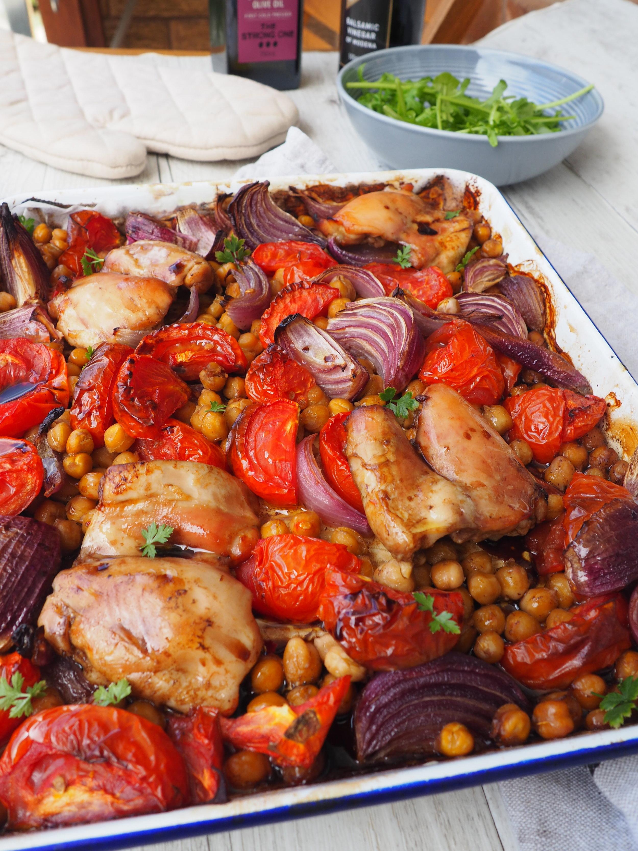 One tray balsamic Chicken recipe