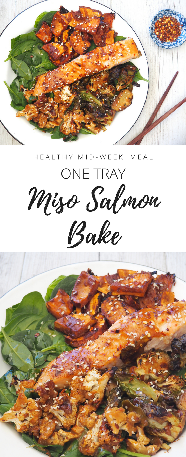 One tray Miso Salmon Bake - Healthy recipe by nutritionist Lyndi Cohen.png