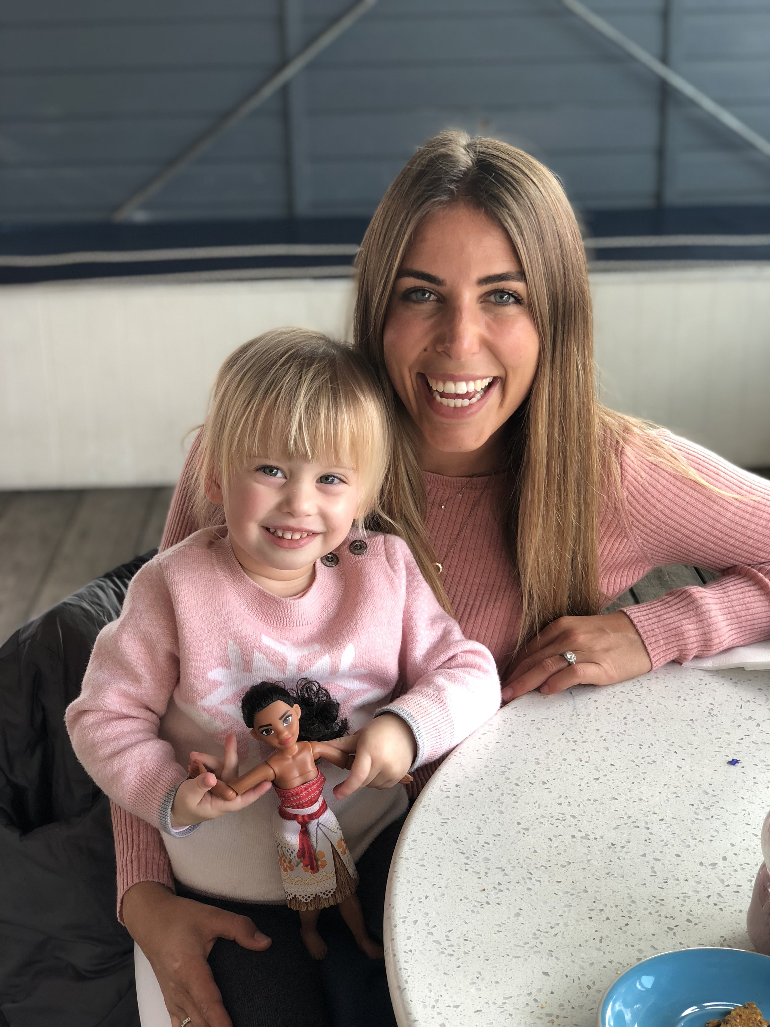 Here I am with the super gorgeous Evie Hawkins. Thank to her mum Kathryn Hawkins (who is an amazing dietitian and one of my best friends) and Evie has a wonderful relationship with food. Check out  Kathryn Hawkins Nutrition  and follow Kathryn (and Evie)  here .