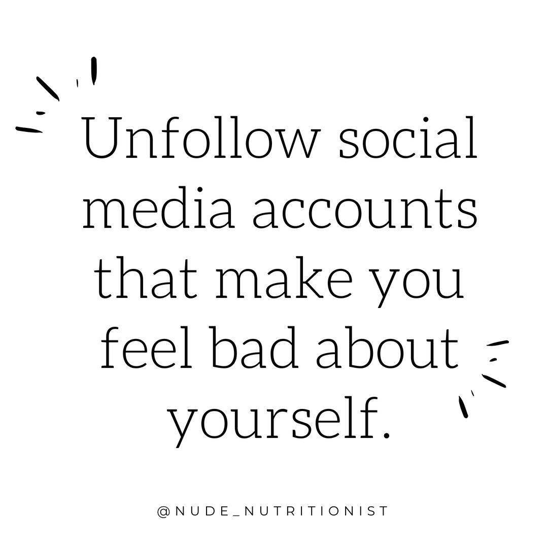 build body confidence on social media