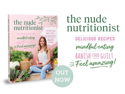 The Nude Nutritionist Book - Lyndi Cohen