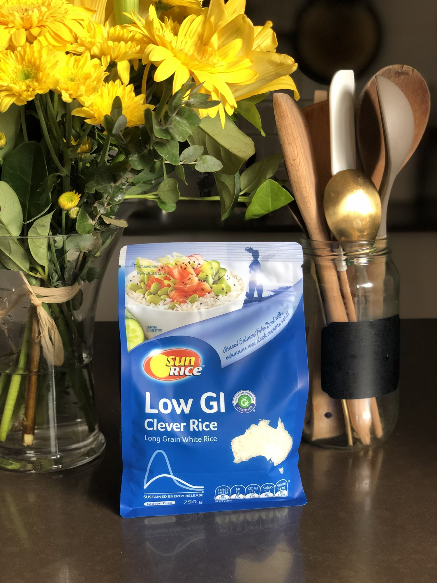 SunRice Low GI white rice has a lovely new look packaging!