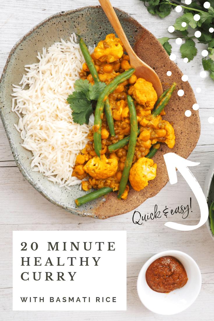 SunRice Healthy 20 minute Curry Recipe