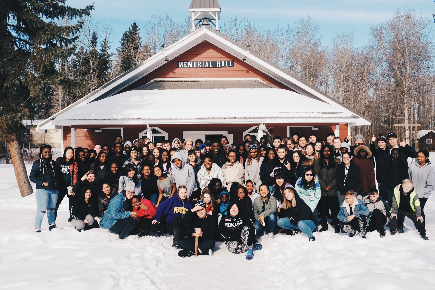 Get away and get with God. - We love retreats. They are the best way for students and leaders to get away from the busyness of life long enough to experience a distraction-free atmosphere where they can deepen their relationship with God and each other.
