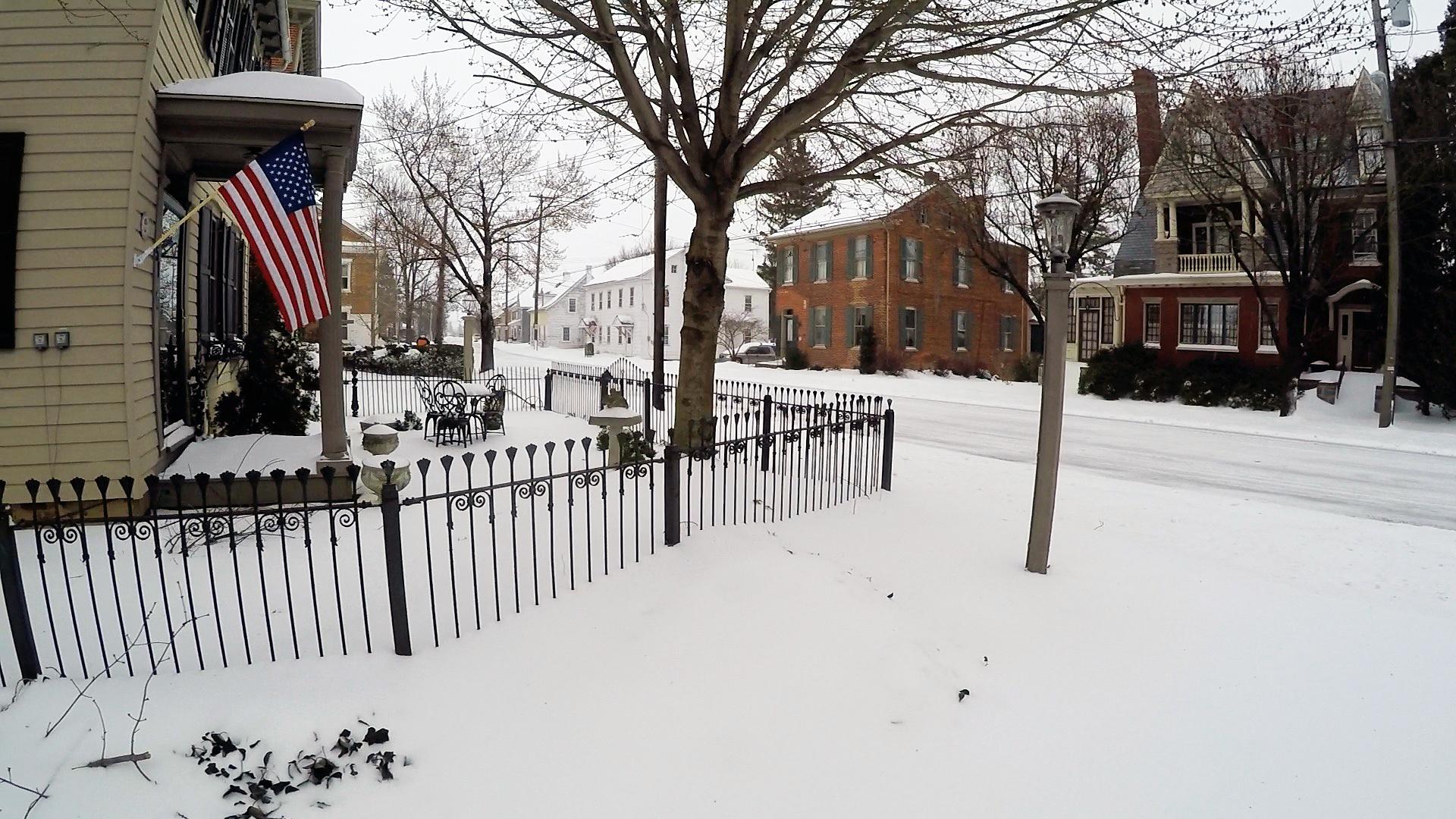 Snow in Pennsylvania