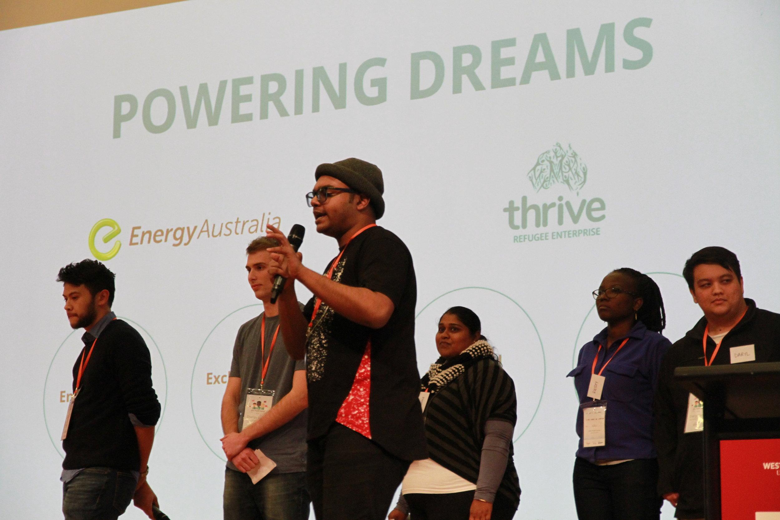 "Team Z.Dot. presents their ""Powering Dreams"" solution"