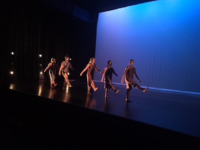 """Students from our guiDANCE program performed at the Movement Source show, """"Alone, Together"""" April 2018"""
