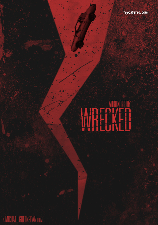 Alternate Wrecked movie Poster by Brandon Michael Elrod.jpg