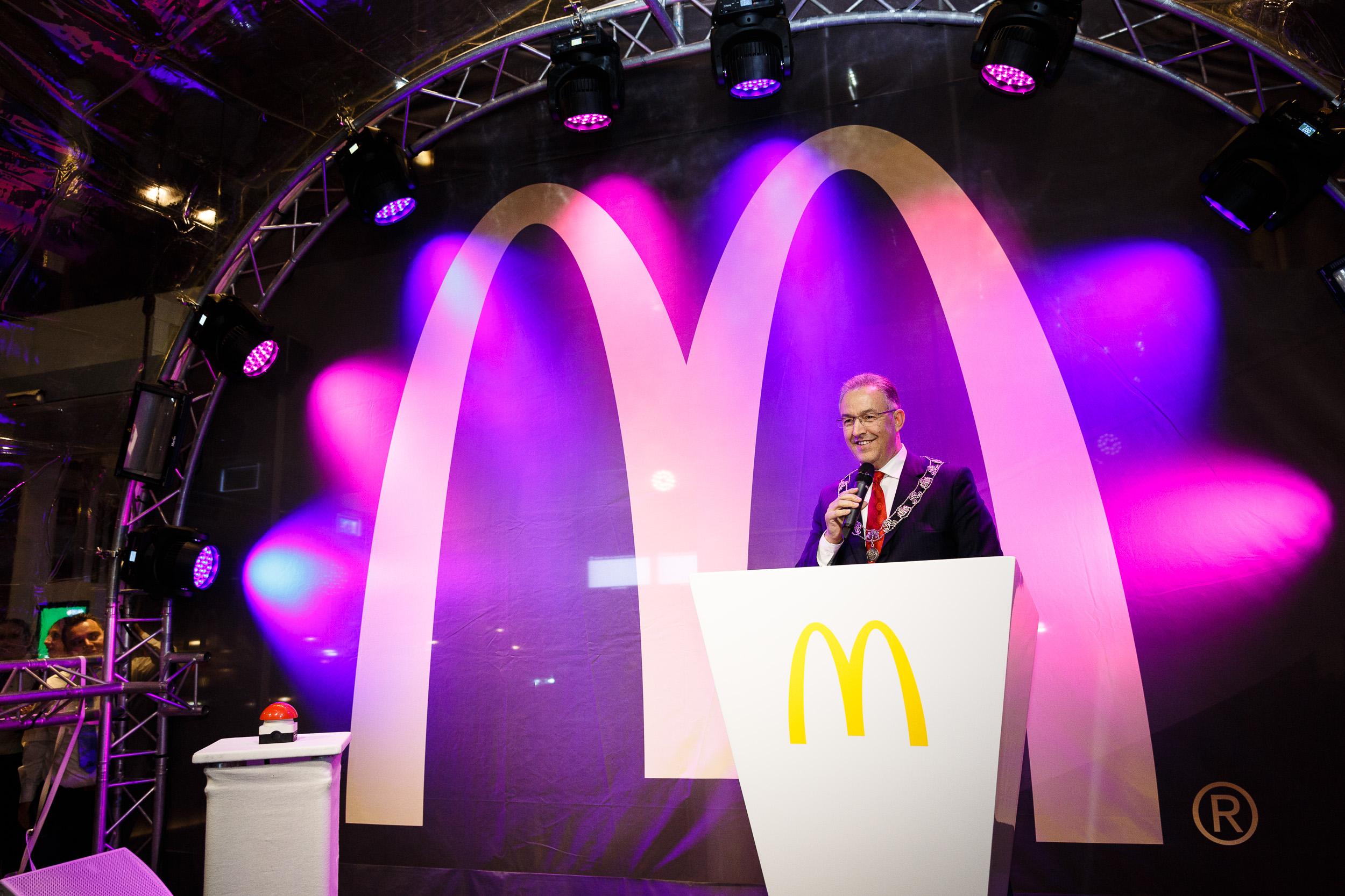 20150327 McDonalds Coolsingel opening 09.jpg