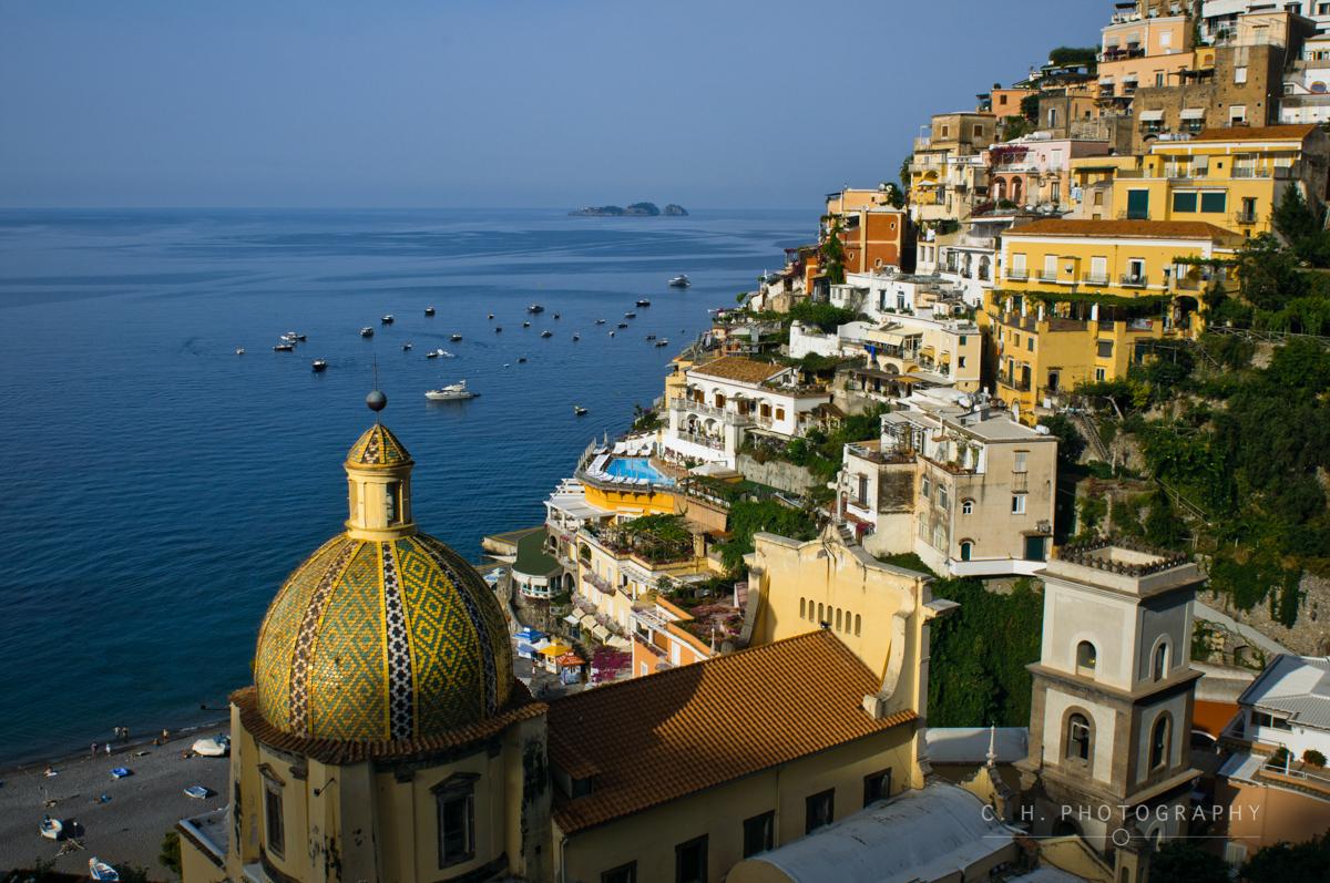 Mediterranean Sunrise - Positano, Italy