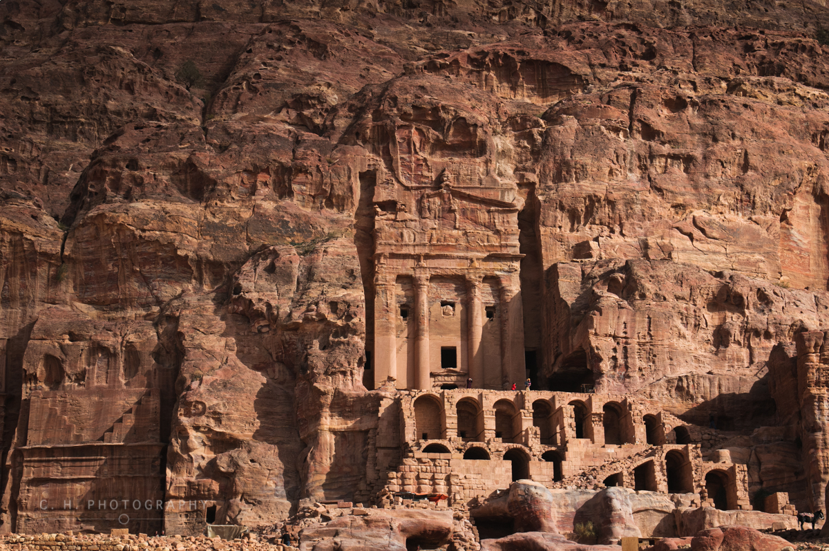 Ancient Temple - Petra, Jordan