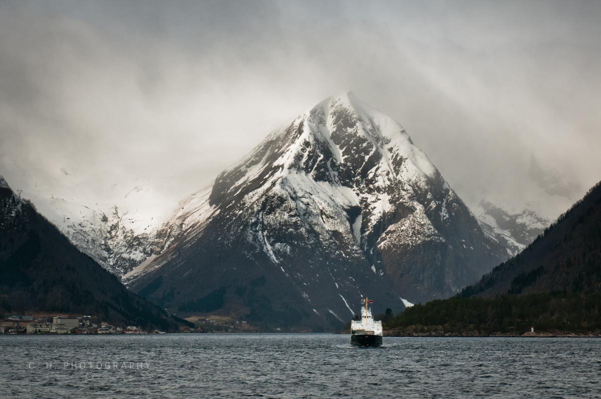 Fjord & Mountain - Sognefjorden, Norway