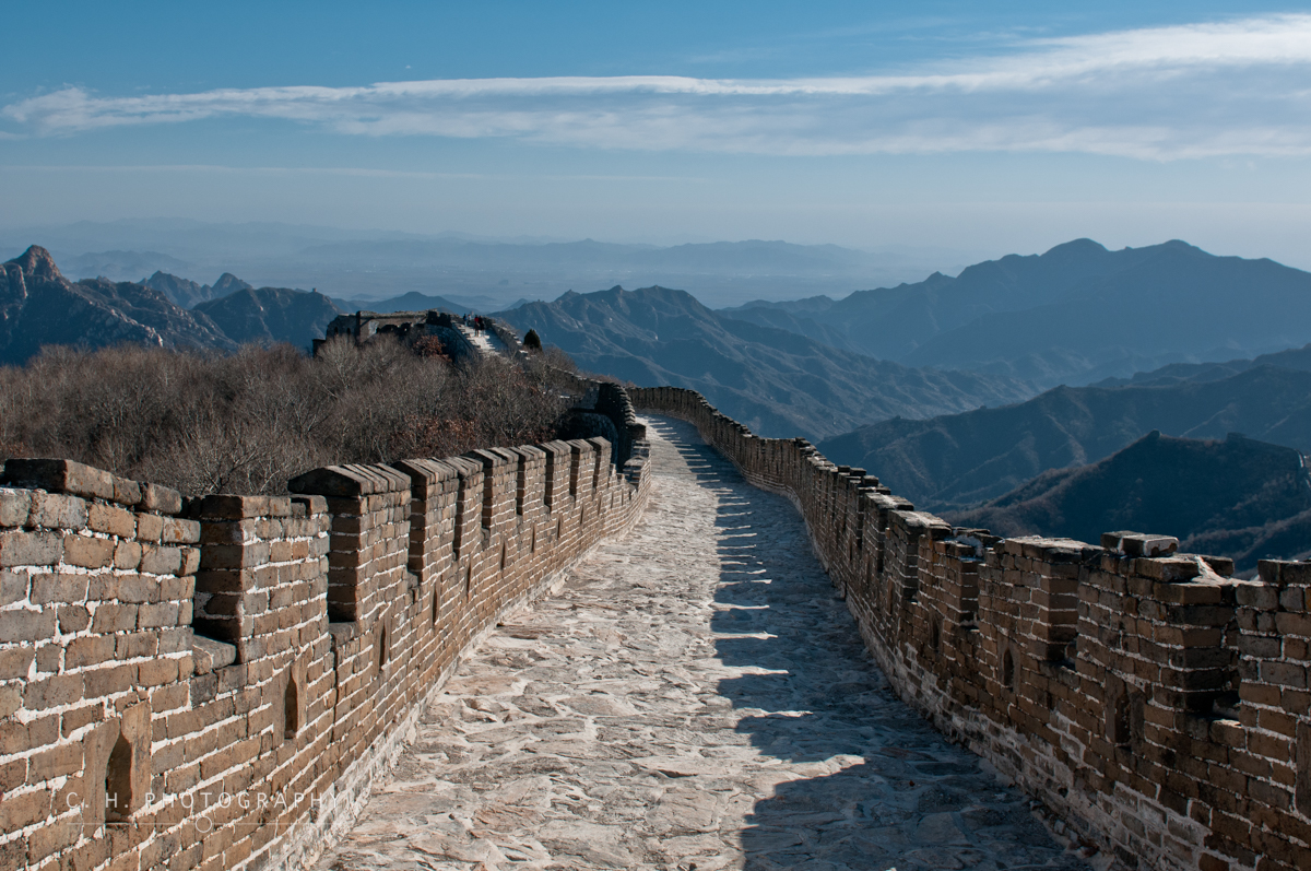 High Above The Valley - The Great Wall of China