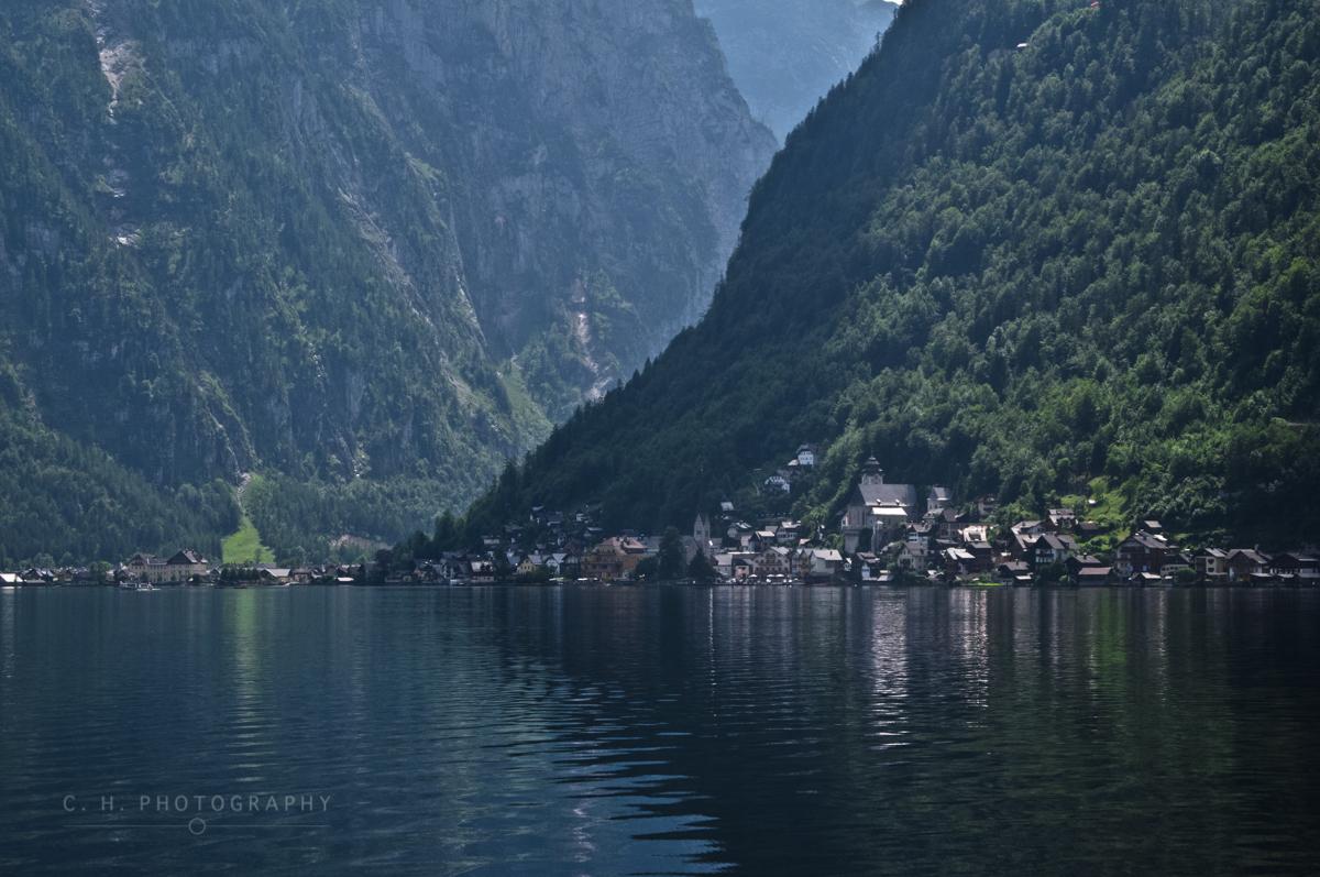 Village Reflection - Hallstatt, Austria
