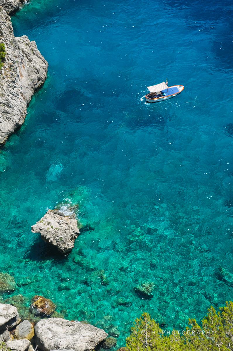Turquoise Water - Capri, Italy