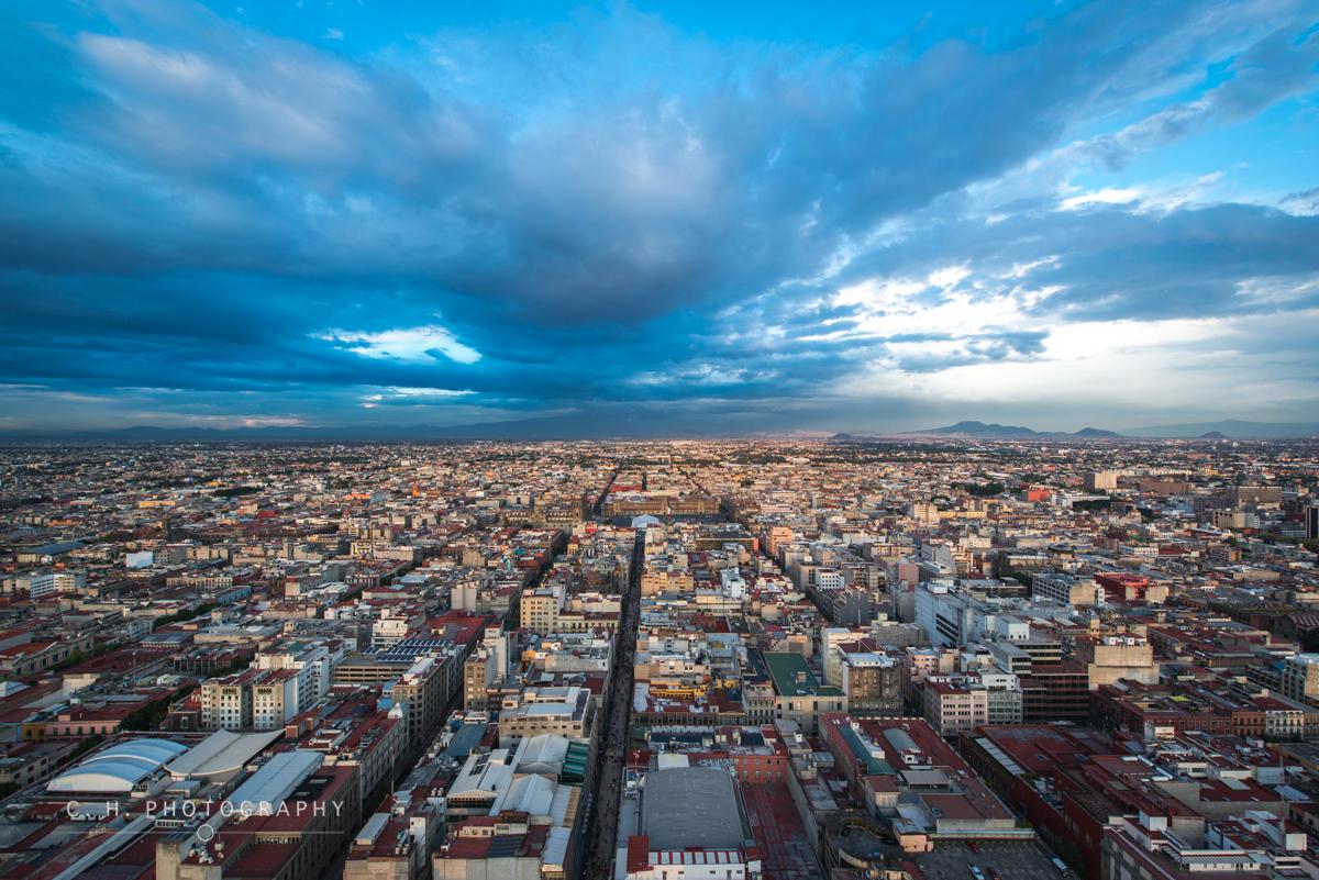 Sprawling City - Mexico City, Mexico