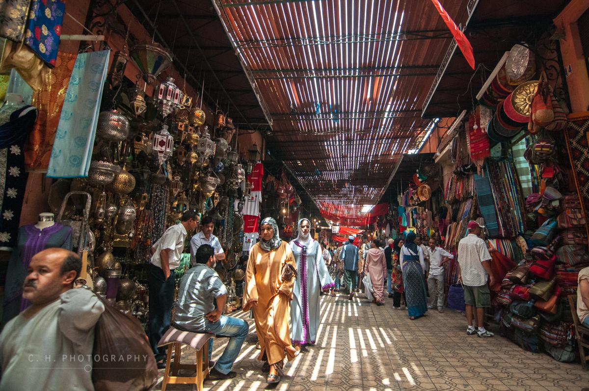 The Souks - Marrakech, Morocco