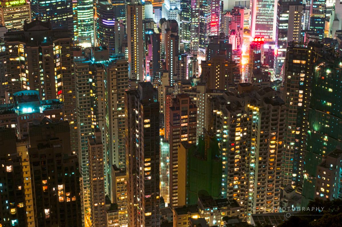 Victoria Peak View - Hong Kong, China