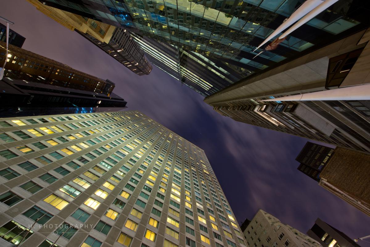 Midtown Night - New York City, USA