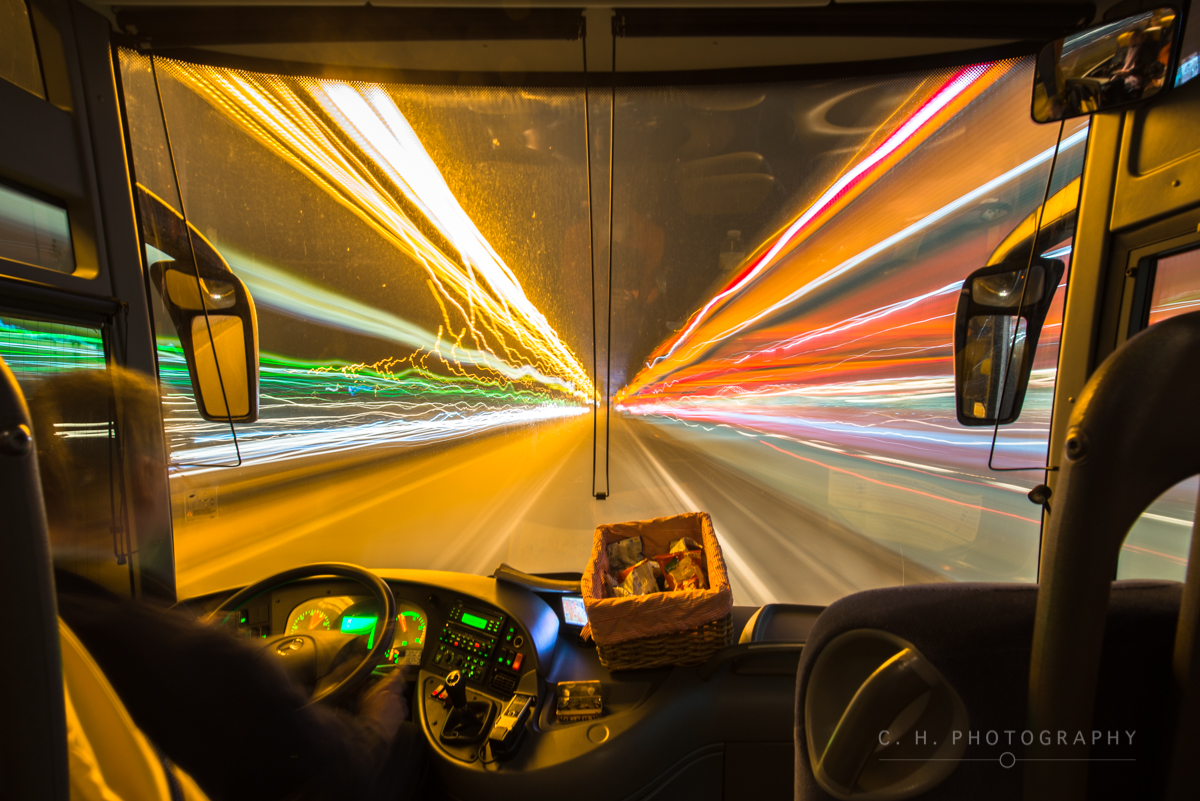 Bus In Motion - The Netherlands