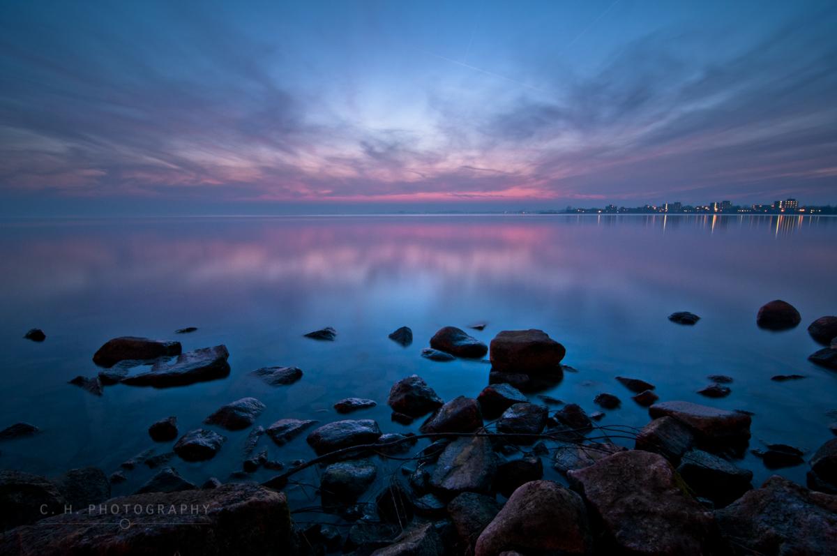 Sunset Reflection - Hoorn, The Netherlands