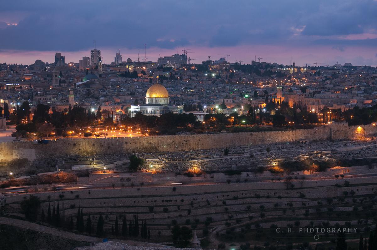 Old City Skyline - Jerusalem, Israel